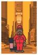 《山本周司 イラストポストカード》CY-6/ タイムズスクエア清掃員