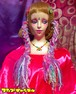 1本三つ編みヘアゴム 薄紫