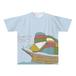 オリジナルTシャツ:なおき作「出航」