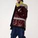 『RAKI』 1off PVC/Fake fur work coat