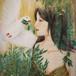 Painting「鳩は箱舟に帰った(Pigeon returned to the ark)」旧約聖書の一場面を描いた作品