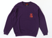 FUNKA CREW NECK PURPLE/ORANGE