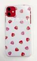 iPhone11 ホワイトケース いちご