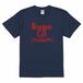 ロズベリーカフェAllTogetherNowTシャツ(インディゴ)