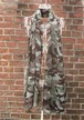 TheDelight CAMOUFLAGE STOLE KHAKI