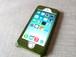 【受注制作】iPhoneケース《5/5S専用》|モスグリーン