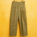 50's BELGIAN ARMY COTTON CARGO PANTS DEAD STOCK - 1