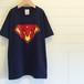 Superman?/ネイビー - イニシャルオーダーTシャツ