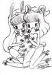 真珠子ぬりえポストカードセット(おしゃまシリーズ)