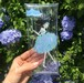 紫陽花バレリーナ クリアマルチケース
