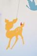 バンビと鳥と蝶のモビール(カラフルver.)