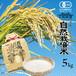 【菊池市産特産品・名産品送料無料キャンペーン】高野さんちの自然栽培米5kg