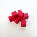 赤14mm木製キューブ(約100個)