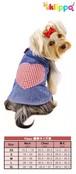 犬服(ドッグウェア) Klippo Soft Denim Dress デニムドレス