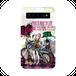 #016-005ロック&キュート モバイルバッテリー 《ブレーメン~オリジナルキャラクター~》パターン1 iphone スマホ 充電器 作:nero