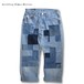 Remake Mondrian Patch Denim Pants -A
