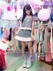羽根ギンガムチェックのフリフリセットアップ/魔法都市東京