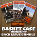 BASKET CASE magazine Back Issue Bundle #B