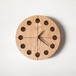 木の時計マル(Φ240) No2 | ナラ【針、選択可】