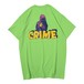 CRIME S/S TEE(LIME)[TH9S-008]
