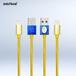 InfoThink USBケーブル Disney 美女と野獣 iPhone・iPad 急速充電ケーブル ベル