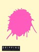 DRIPPING Sticker L(ピンク)