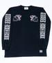 TRIPLE BLACK PANTHER Long T-Shirts Black