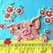 <オーダー品> A little pig with flowers