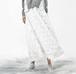 Tassel feather long skirt タッセル フェザー ロング スカート