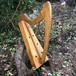 27弦桐製金属弦ハープ(ジャコビアン、op.198)