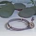 men's&ladie's bracelet■shara (grey)