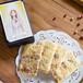 【奇跡の女神 Virgin Mary】女神のメッセージカード付お守りカード型クッキー(イチヂクの赤ワイン漬け&ペッパー&チーズ)