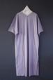 wryht - slit v neck tee dress