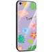 Jenny Desse Samsung Galaxy S9 Plus ケース カバー 背面強化ガラスケース  背面ガラスフィルム シリコンハイブリッドケース 対応 sim free 対応 トロピカル・パープル(紫)