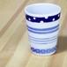 砥部焼 フリーカップ (4種ボ-ダ-)