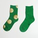 METAL SOX (4.5DOT) GREEN X GOLD