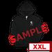 sa'Toshl オリジナルジップパーカー TYPE-B-XXL