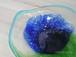 琉球ガラス お皿 夏色のおしゃれなお皿 中 青緑泡/口巻-3|琉球ガラス販売 みんるー商店