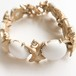 """Sarah Coventry"" Snow Princess bracelet[h-77]"