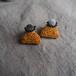 Marigold Bi-color Earrings
