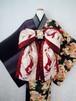 作り帯*昇り龍(赤銅色)