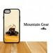 マウンテンギア 登山靴 アイゼン ピッケル 強化ガラス iphone Galaxy スマホケース 登山 山 アウトドア 登山道具