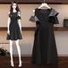 【dress】早い者勝ちファッションチュニック不規則 イレギュラーデートワンピース