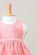出産祝いはもちろん!ランチ会で注目のお姫様に♥ベビーエプロンピンク
