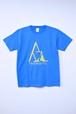 memento森初期ロゴTシャツ(BLUE)