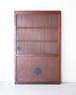 桐模様金具の蔵戸