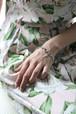 GIVENCHY silver tone bracelet