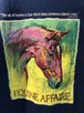 2000's horse oil painting T's