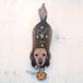 D-81 ミニチュアダックス(ロング)-犬の振り子時計