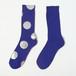 <MEN'S> METAL SOX (4.5 DOT) BLUE X SILVER